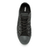 Converse Men's Chuck Taylor All Star Denim Woven Ox Trainers - Black/Storm Wind/Storm Wind: Image 3
