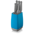 Morphy Richards 971265 Chroma 5 Piece Knife Block - Iris: Image 1