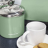 Morphy Richards 974081 Large Storage Canister - Sage Green: Image 3