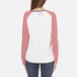 Maison Scotch Women's Long Sleeve Baseball T-Shirt with Cool Artworks - White: Image 3