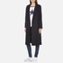 Maison Scotch Women's Longer Length Tailored Coat - Navy: Image 2