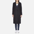 Maison Scotch Women's Longer Length Tailored Coat - Navy: Image 1