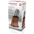 Morphy Richards 974819 5 Piece Knife Block - Copper: Image 4