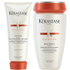 Kérastase Nutritive Bain Satin 2 250ml and Nutritive Lait Vital 200ml