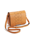 Orla Kiely Women's Mini Ivy Leather Cross Body Bag - Tan: Image 3