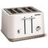 Morphy Richards Aspect Steel 4 Slice Toaster and Kettle Bundle - White: Image 8
