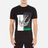 McQ Alexander McQueen Men's Abstract Swallow Short Sleeve Crew T-Shirt - Darkest Black: Image 1