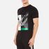 McQ Alexander McQueen Men's Abstract Swallow Short Sleeve Crew T-Shirt - Darkest Black: Image 2