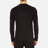 McQ Alexander McQueen Men's Abstract McQ Printed Long Sleeve Crew T-Shirt - Darkest Black: Image 3