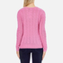 Polo Ralph Lauren Women's Kimberly Cashmere Blend Jumper - Wesley Pink Heather: Image 3