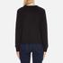 Polo Ralph Lauren Women's Crew Neck Logo Sweatshirt - Polo Black: Image 3