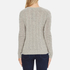 Polo Ralph Lauren Women's Kimberly Cashmere Blend Jumper - Light Vintage Heather: Image 3
