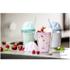 Sagaform Sweet Plastic Milkshake Cup 350ml - Pink: Image 2