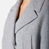 Sportmax Women's Asia Knee Length Coat - Grey: Image 4