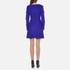 Sportmax Code Women's Argenta Bow Sleeve Dress - Cornflower Blue: Image 3