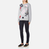 Sportmax Women's Texas Embroidered Sweatshirt - Medium Grey: Image 4