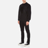 Alexander Wang Men's Embroidered Barcode Logo Sweatshirt - Black: Image 4