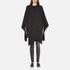 MICHAEL MICHAEL KORS Women's Twill Blanket Poncho - Grey: Image 1