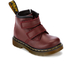 Dr. Martens Toddlers' Brooklee BV Velcro Leather Boots - Cherry Red: Image 2