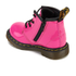 Dr. Martens Toddlers' Brooklee B Patent Lamper Leather Lace Up Boots - Hot Pink: Image 4