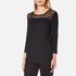 Selected Femme Women's Mussa Lace Top - Black: Image 2