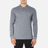 Lacoste Men's Long Sleeve Marl Polo Shirt - Navy Blue/Mouline: Image 1