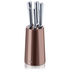 Swan SWKB1010COPN 5 Piece Knife Block - Copper: Image 1
