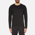 Michael Kors Men's Long Sleeve Sleek MK Crew Top - Black: Image 1