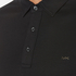 Michael Kors Men's Long Sleeve Sleek MK Polo Top - Black: Image 5