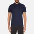 Michael Kors Men's Liquid Cotton Short Sleeve Polo Shirt - Midnight: Image 1