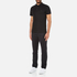 Michael Kors Men's Sleek Mk Polo Shirt - Black: Image 4