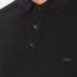 Michael Kors Men's Sleek Mk Polo Shirt - Black: Image 5