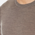 Michael Kors Men's Merino Crew Neck Jumper - Taupe: Image 5