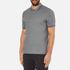 Michael Kors Men's Double Collar Zip Polo Shirt - Ash Melange: Image 2