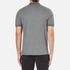 Michael Kors Men's Double Collar Zip Polo Shirt - Ash Melange: Image 3