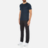 Michael Kors Men's Liquid Jersey Crew Neck Short Sleeve T-Shirt - Midnight: Image 4