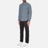 Michael Kors Men's Slim Fit Romeo Long Sleeve Shirt - Pine: Image 4
