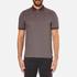 Michael Kors Men's Tipped Birdseye Polo Shirt - Burgundy: Image 1