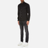 Michael Kors Men's Slim Long Sleeve Shirt - Black: Image 4