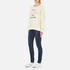 Wildfox Women's New Clothes Kims Sweatshirt - Vanilla Latte: Image 4