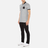Versace Collection Men's Bomber Collar Polo Shirt - Grigio: Image 4