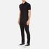 Versace Collection Men's Chest Logo Polo Shirt - Black: Image 4