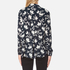 Ganni Women's Maxwell Crepe Shirt - Vanilla Ice Bell Flower: Image 3