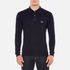 Maison Kitsuné Men's Virgin Wool Polo Shirt - Navy: Image 1