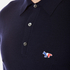 Maison Kitsuné Men's Virgin Wool Polo Shirt - Navy: Image 5