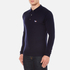 Maison Kitsuné Men's Virgin Wool Polo Shirt - Navy: Image 2