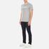 Maison Kitsuné Men's Parisien T-Shirt - Grey Melange: Image 4
