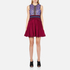 Three Floor Women's Crème de Cassis Dress - Bordeaux/Plum/Midnight Blue: Image 1