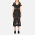 Three Floor Women's Floral Feeling Dress - Black: Image 1