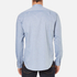 PS by Paul Smith Men's Grandad Collar Shirt - Blue: Image 3